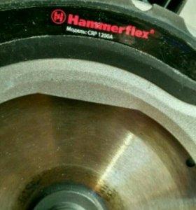 Пила циркулярная Hammerflex 1200a