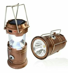 Фонарь-прожектор складной кемпинговый JH-5700T