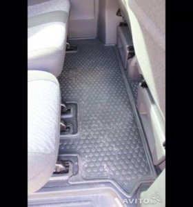 Салонные коврики VW CaravelleT5 T6