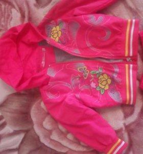 Ветровка и штаны костюм