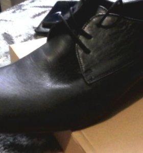 Туфли новые (100% кожа)