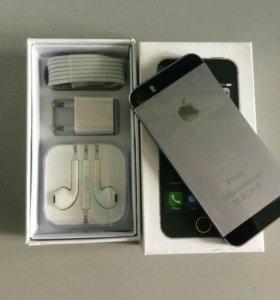 Новый оригинальный iPhone 5s 32 gb LTE