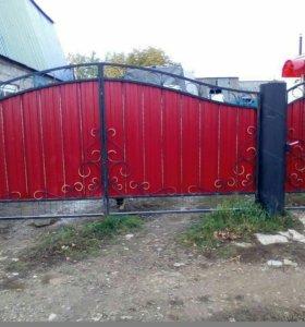 Кованые ворота артикул 51