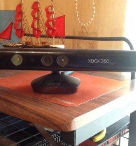 Kinekt XBox 360 + 3 игровых диска