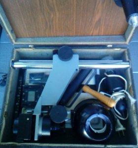 Фотоувеличитель и глянцеватели(комплект)