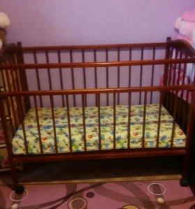 Кроватка детская. Новая.