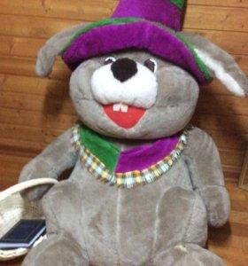 Заяц игрушка