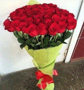 Букет роз под любой заказ (любые формы,количество)