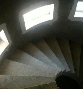 Монолитные Лестницы.