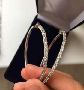 Серьги 925 серебро