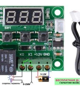 Терморегуляторы, термостат реле датчик температуры