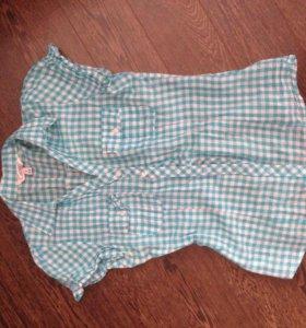 Рубашка с коротеньким рукавом