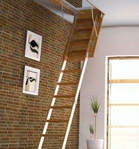 Деревянная чердачная лестница ЧЛ-01
