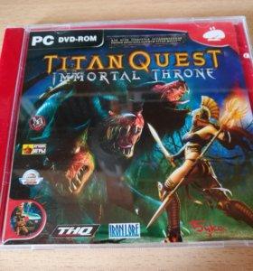 Titan quest. Immortal throne