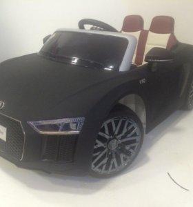 Детский электромобиль R 8 матовая