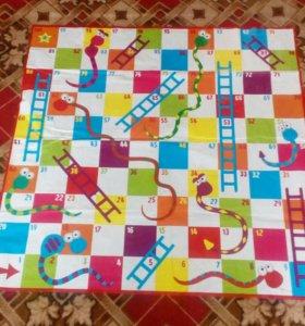 Клеенчатый коврик для игры