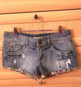 Шорты джинсовые,44(S)