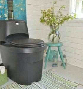 Сухой туалет на 140 литров. Biolan Komplet