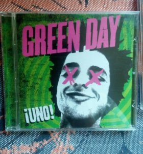3 альбома Green Day - Uno +Dos + Tre