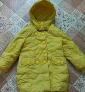 Детская куртка рост 104-110.