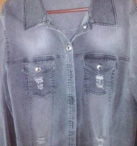 Куртка джинс 52-54