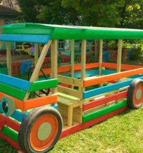 Детские площадки, изготовление на заказ.