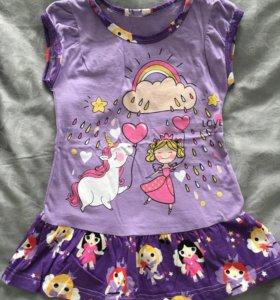 Платье 86-92 новое