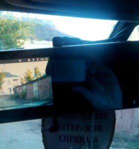 Видеорегистратор и камера заднего вида