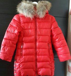 Зимная куртка -пальто