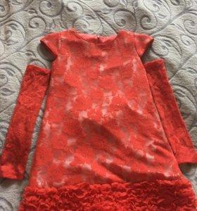 Платье для девочки,130-140