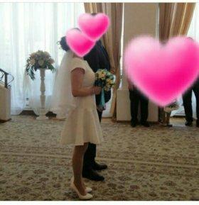 Свадебное,коктельное платье