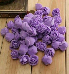 Цветы из пены