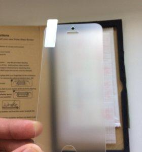 Матовое защитное стекло для iPhone 5, 5s