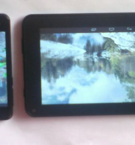 Телефон Fly Strarus 5 и планшет Digma Optima 7.12