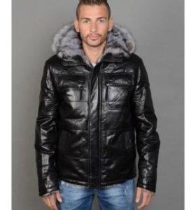 продам куртку кожаную.