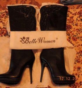 Женские, тёплые, сапоги Belle Women