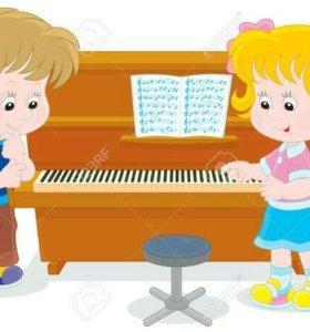 Вокал, сольфеджио, фортепиано для детей и взрослых
