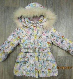 Куртка зима 110-116 см