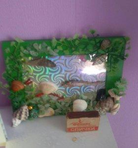 Картина из ракушек