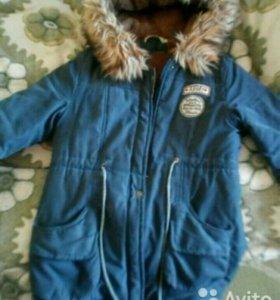 Парка, весенняя куртка