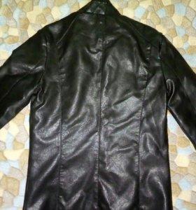 Куртка мужская новая кож.зам.Подойдет на подростка