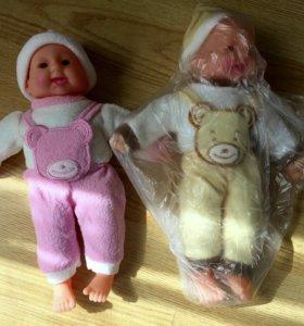 Пупсы куклы хохотун