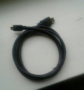 HDMI на HDMI мини новый купили не то что нужно