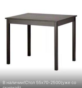Новый стол ИКЕА