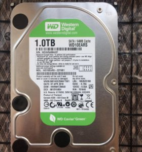 Жесткий диск WD 1TB