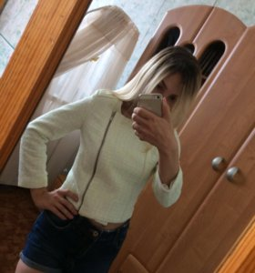 Куртка-косуха Bershka