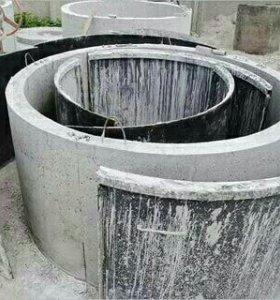 разборная форма для бетонных колец