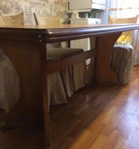 Стол деревянный большой.