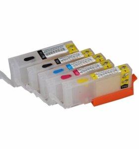 Продам картриджи цветные ПЗК(многоразового использования)PGI450, для принтеров Canon