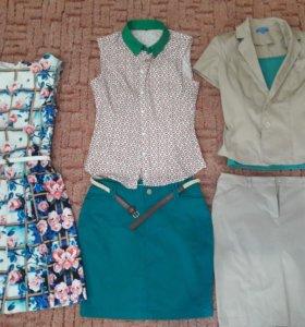 Платья, костюм, комплект, юбка, блузка